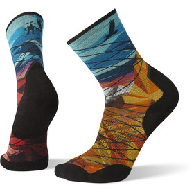 Smartwool PhD Pro Endurance Print Socks Men Bright Blue